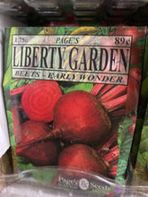 Load image into Gallery viewer, Liberty Garden Seed and Herb Packets