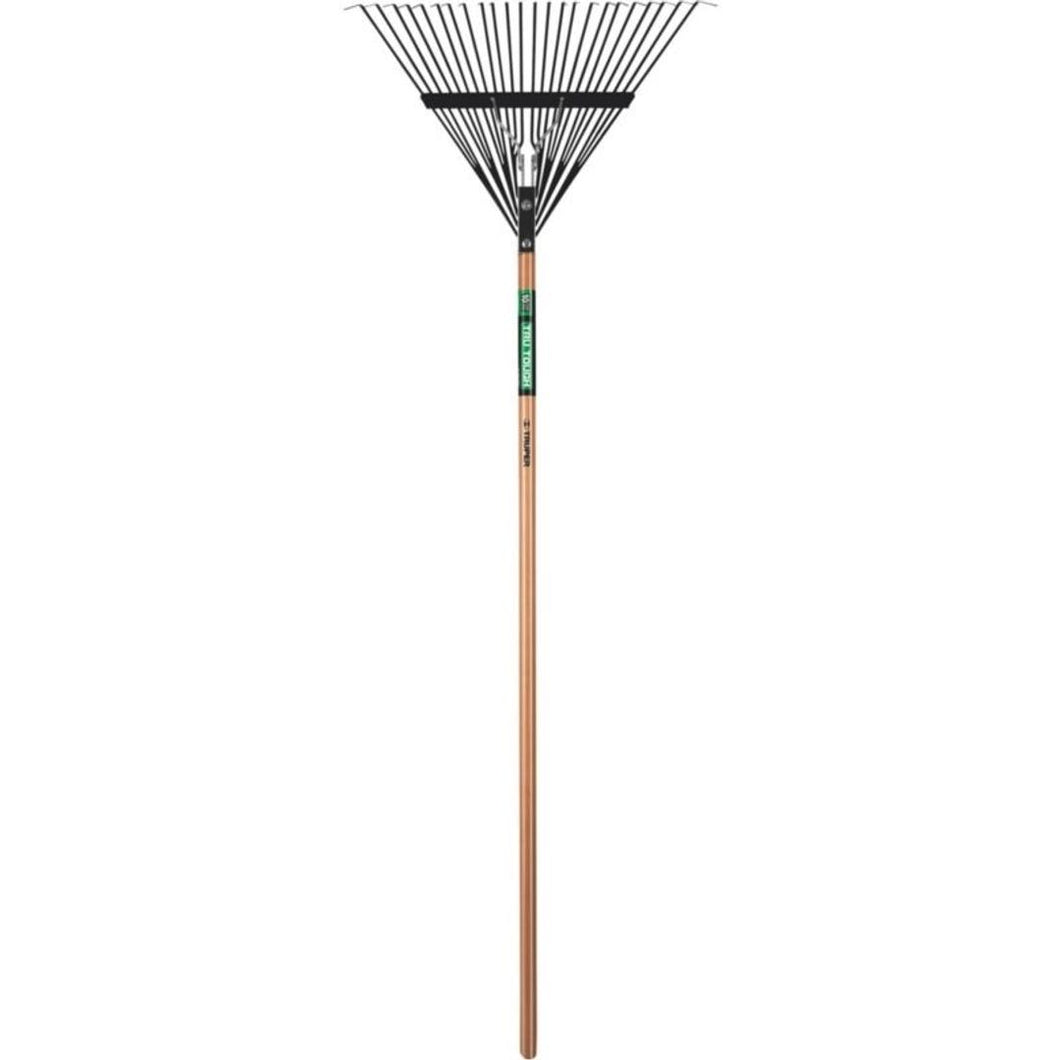 Tru Truper Tough Steel Time Leaf Rake 24 inch