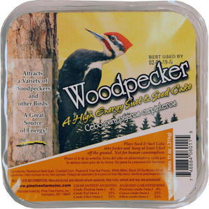 Woodpecker - A High Energy Suet and Seed Cake