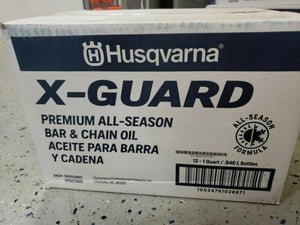 Husqvarna X-Guard Premium All-Season Bar & Chain Oil Singles