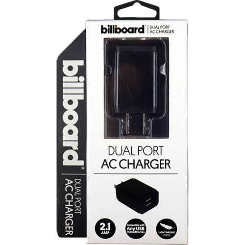 Billboard BB1983 Dual AC Charger, 2.1Amp