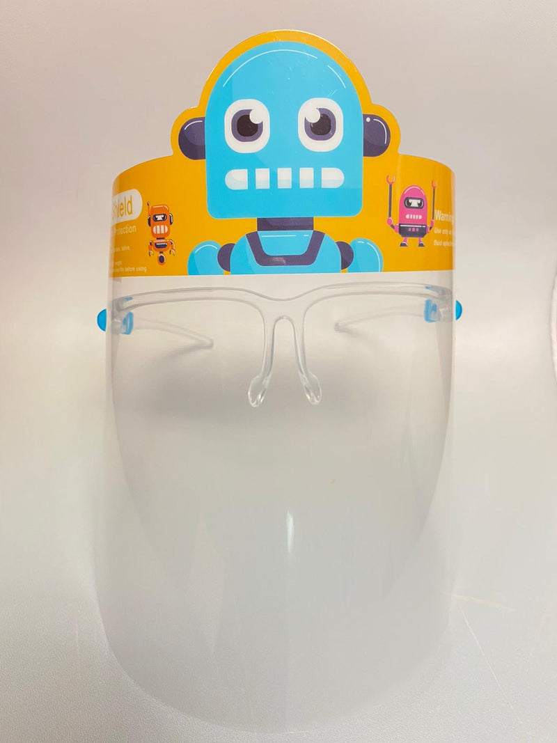 Individual Face Shield with frame for Kids,  (9 different Characters)