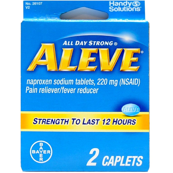 Aleve - Travel Size 12 Hours - 2 Caplets