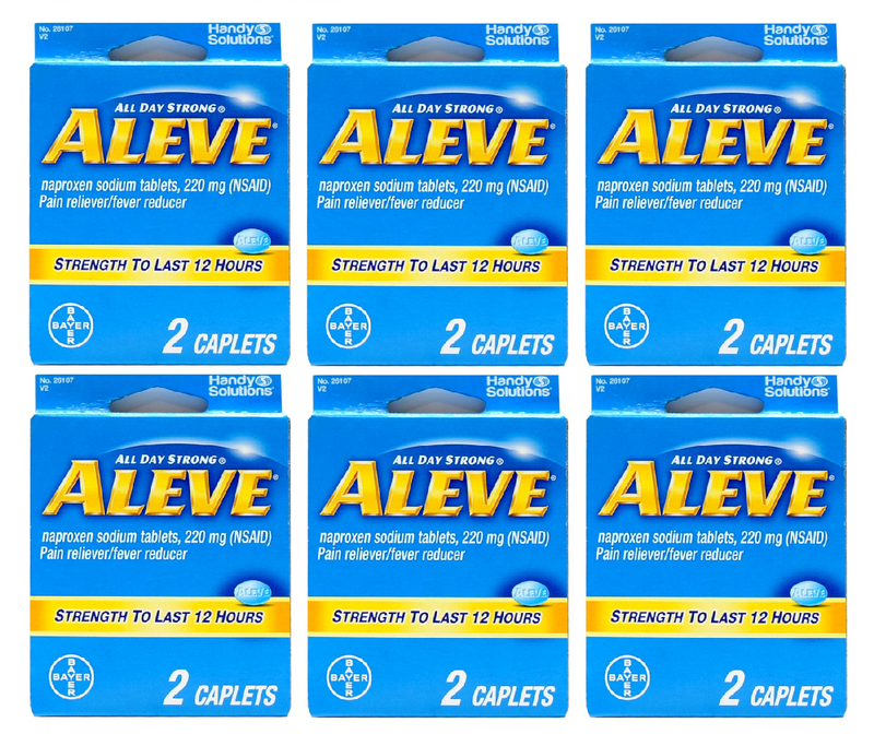 Aleve - TS 12 Hours - 2 Caplets (Case of 6)