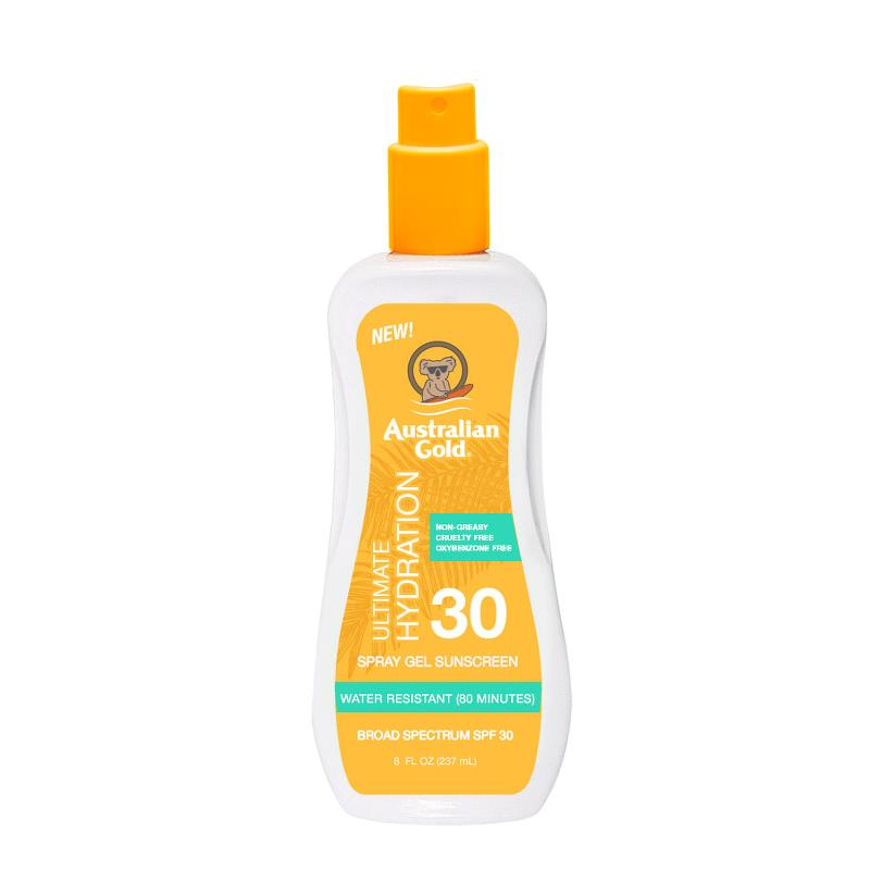 Australian Gold - Spray Gel SPF 30 - 8oz