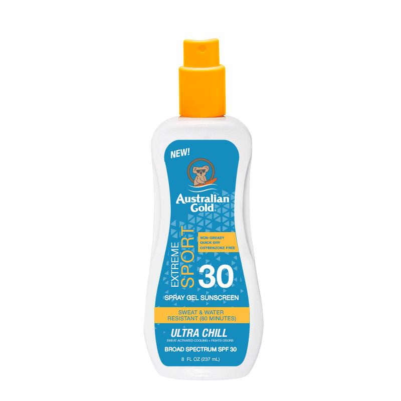 Australian Gold - Sport Spray Gel with Ultra Chill SPF 30 - 8 oz