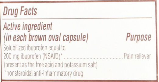 Advil - Migraine - 20 liquid filled capsules