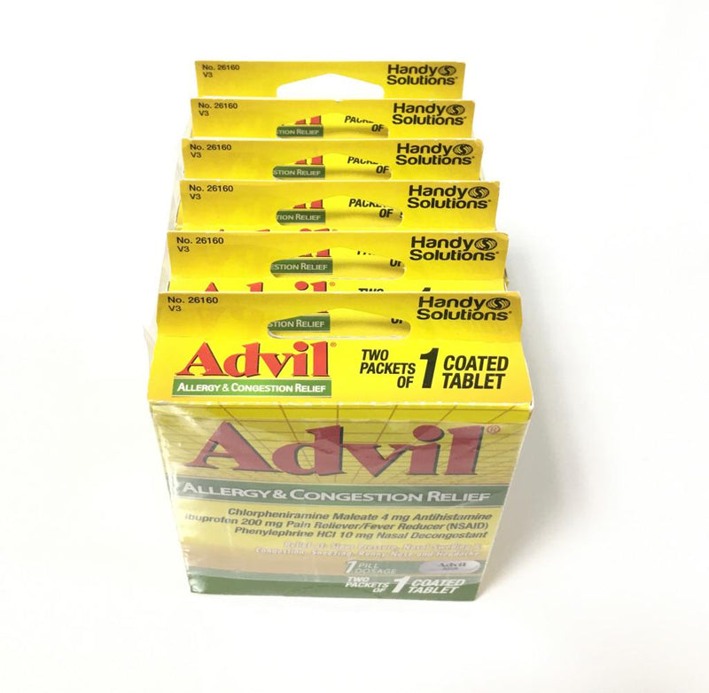 Advil - TS Allergy & Congestion Relief - 1 Coated Tablet (6-Pack)