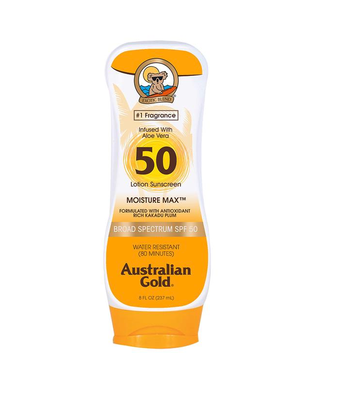 Australian Gold Sunscreen Lotion SPF 50 8 oz