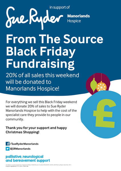 Black Friday Weekend 2018 - Donating not Discounting