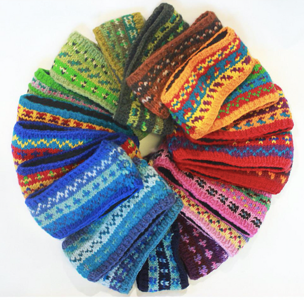 Fair Trade Wool Hats, Gloves, Hand warmers & Headbands from Nepal