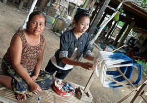 Employment for women in rural Laos