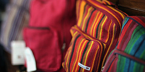 our wholesale fair trade bag collection sourced from nepal