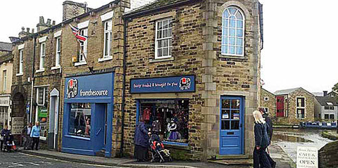 our fair trade shop in Skipton North Yorkshire