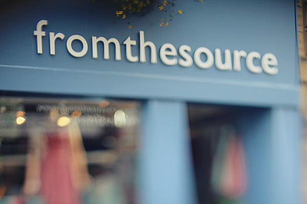 From The Source Skipton Shop Front