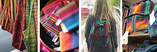 wholesale shoulder bags rucksacks fair trade