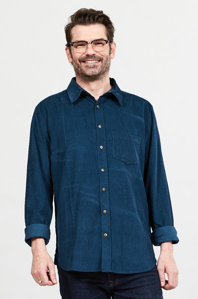 Men's Long Sleeve Cord Shirt