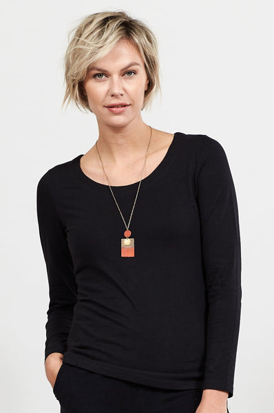 Organic Cotton Long Sleeved Top