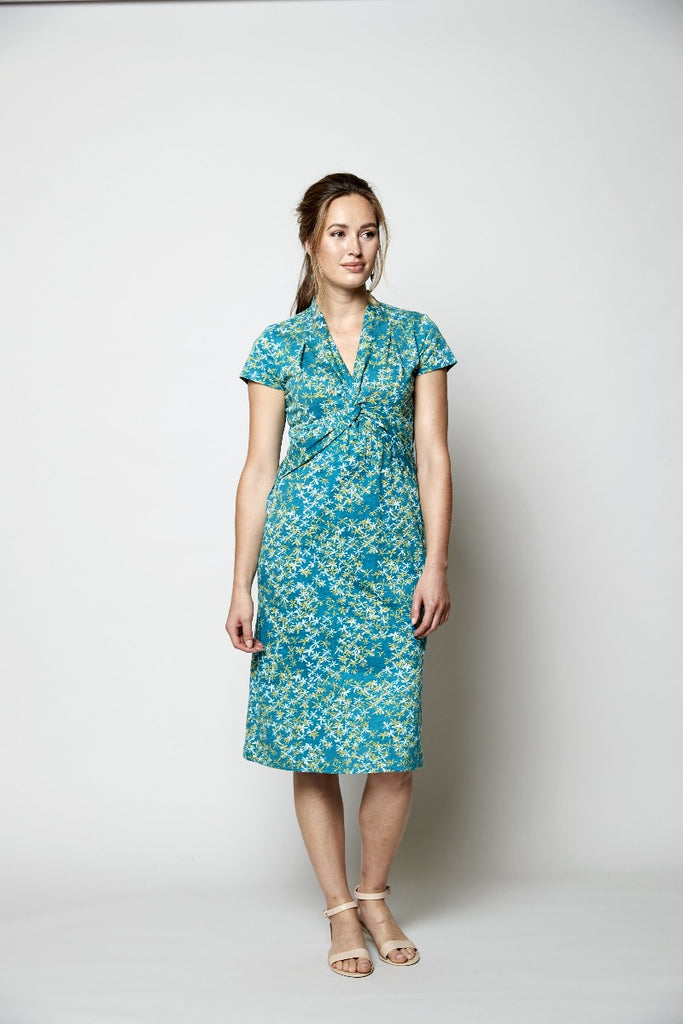 Knot Front Organic Dress