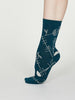 Edith Bamboo Abstract Socks