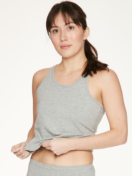 Grey Leah GOTs Organic Cotton Cami