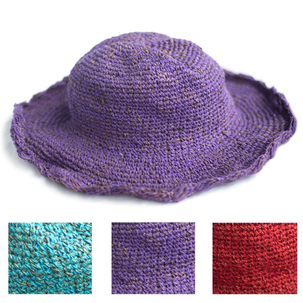 block colour sun hat