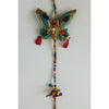 beaded Indian butterflies hanging string decoration
