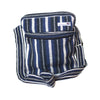 fair trade moonlight striped gehri cotton cross body shoulder bag from Nepal