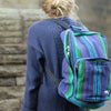 fair trade square rucksack