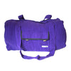 fair trade purple gehri cotton holdall bag from Nepal