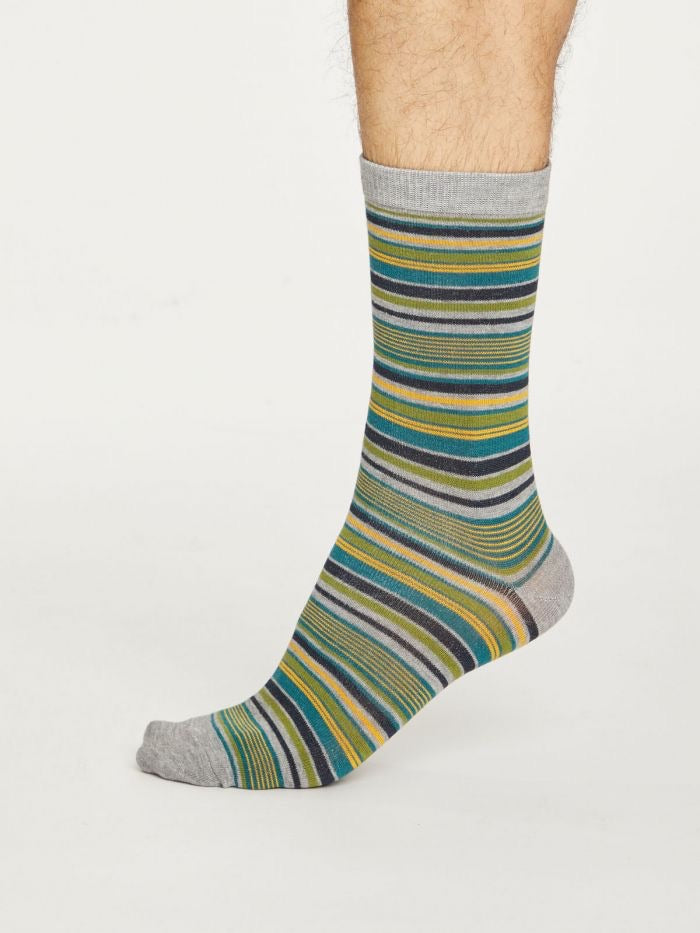 Men's Kennet Stripe Bamboo Socks