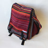 large fair trade expanding satchel bag in ember