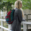 fair trade stripy rucksack from Nepal