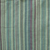 light green striped cotton grandad shirt fabric