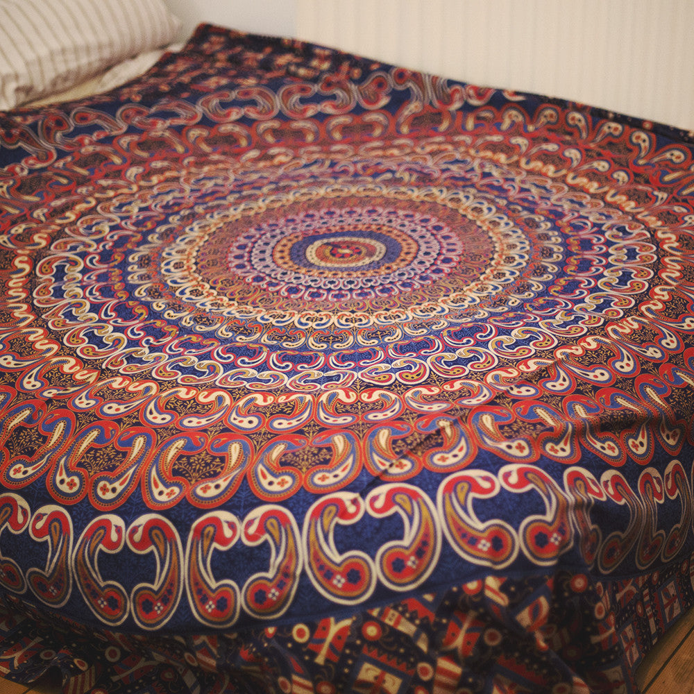 mandala throw - double size (more colours & designs available ...