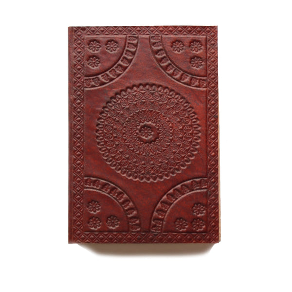 Mandala design Indian Leather Journal