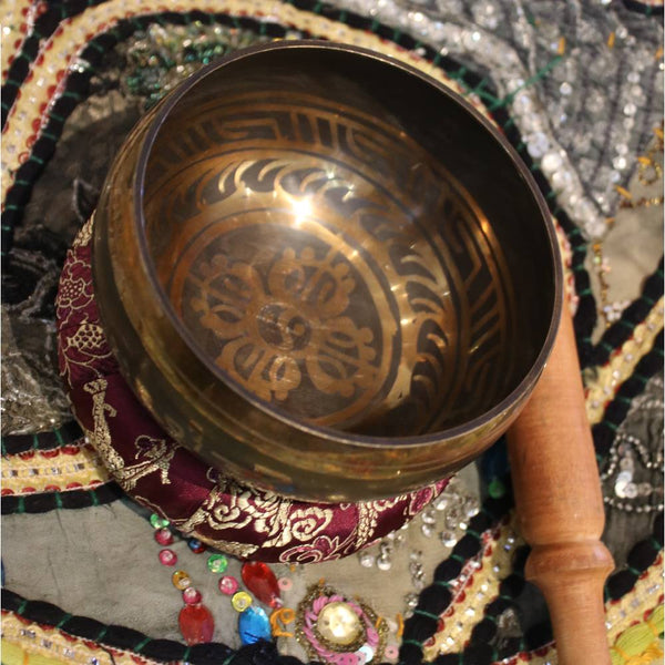 mandala singing bowl from nepal
