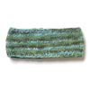 mix knit wool headband green