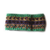 colourful nordic knit wool headband
