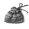 nordic stripe convertible wool snood / hat