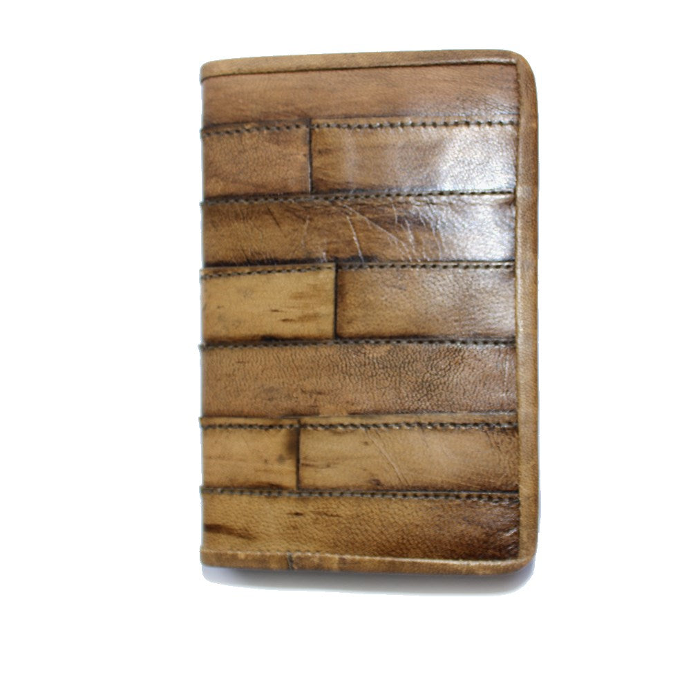 patchwork fair trade leather journal