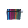 fair trade firelight colourful striped gehri cotton coin purse from Nepal