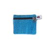fair trade turquoise gehri cotton coin purse from Nepal
