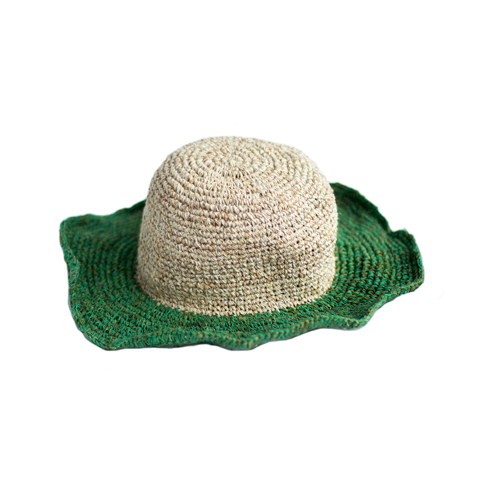 brim colour sun hat
