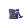 fair trade firelight colourful striped gehri cotton small shoulder bag from Nepal