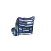 fair trade moonlight striped gehri cotton small shoulder bag from Nepal