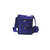 fair trade purple gehri cotton small shoulder bag from Nepal