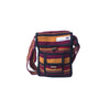 fair trade spice colourful striped gehri cotton small shoulder bag from Nepal