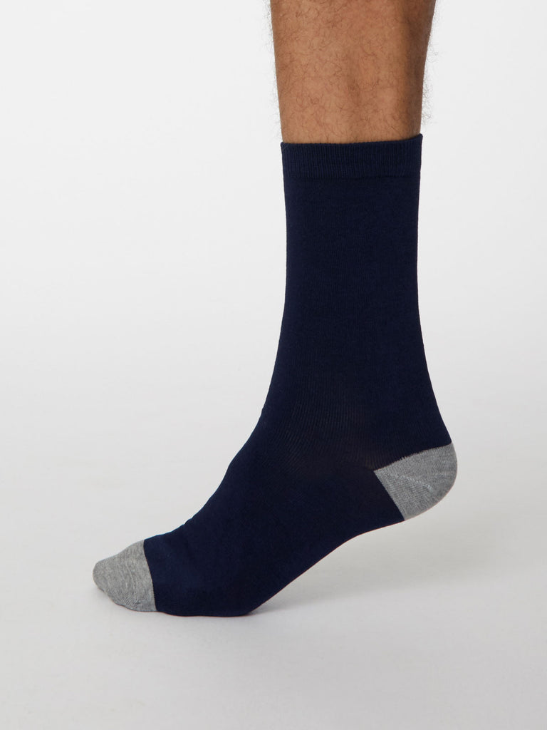 Essential Bamboo Solid Jack Socks