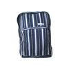 fair trade moonlight striped gehri cotton square hippy rucksack from Nepal